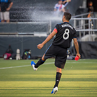 San Jose, CA - Tuesday June 11, 2019: Chris Wondolowski #8 before the US Open Cup match between the San Jose Earthquakes and Sacramento Republic FC at Avaya Stadium.