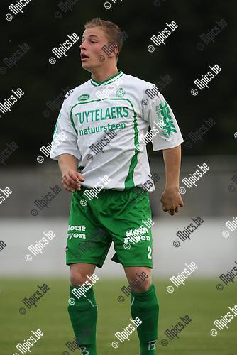2008-07-23 / Voetbal / seizoen 2008 - 2009 / Dessel Sport / Stef Verwimp..Foto: Maarten Straetemans (SMB)