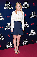 "Camilla Elphick<br /> arrives for the premiere of ""The Neon Demon"" at the Picturehouse Central, London.<br /> <br /> <br /> ©Ash Knotek  D3125  30/05/2016"