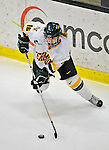 9 February 2008: University of Vermont Catamounts' forward Brittany Nelson, a Sophomore from Shelburne, VT, in action against the Boston University Terriers at Gutterson Fieldhouse in Burlington, Vermont. The Terriers shut out the Catamounts 2-0 in the Hockey East matchup...Mandatory Photo Credit: Ed Wolfstein Photo