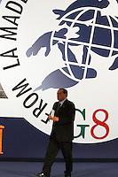 L'AQUILA 09/07/09 G8 SILVIO BERLUSCONI