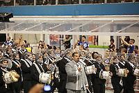 SAO PAULO, SP, 19 DE FEVEREIRO 2012 - CARNAVAL SP - GAVIOES DA FIEL - Desfile da escola de samba Gavioes da Fiel na segunda noite do Carnaval 2012 de São Paulo, no Sambódromo do Anhembi, na zona norte da cidade, neste domingo. (FOTO: RICARDO LOU  - BRAZIL PHOTO PRESS).