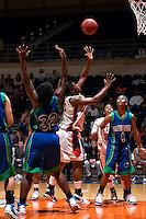 SAN ANTONIO, TX - FEBRUARY 2, 2008: The Texas A&M University Corpus Christi Islanders vs. The University of Texas at San Antonio Roadrunners Women's Basketball at the UTSA Convocation Center. (Photo by Jeff Huehn)