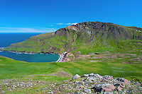 July 2016 - Borgarfjordur Eystri -  Hiking the Brunavik Trail in the Eastern Fjords, Borgarfjordur Eystri, Iceland.