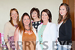 Anne Kelly, Diane O'Leary, Helena Buckley, Joan lenihan and Linda Palmer checking out the latest trends at the Knockanes NS night of style and fun in the Plaza Hotel on Wednesday night