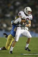 1 October 2006: Kelton Lynn during Stanford's 31-0 loss to UCLA at the Rose Bowl in Pasadena, CA.