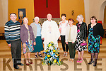 35th Anniversary: Fr. Kevin McNamara, Moyvane parish celebrating 35 years ordained as a priest in Moyvane Church on Friday night last. L-R: Shane Hanrahan, Margaret Horgan, Mary Fitzgerald, Fr. Kevin McNamara, Noreen Roche, Mary Kennelly, Liz Brosnan & Amanda Coulson.