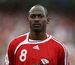 15 June 2006: Cyd Gray (TRI). England defeated Trinidad and Tobago 2-0 at the Frankenstadion in Nuremberg, Germany in match 19, a Group B first round game, of the 2006 FIFA World Cup.