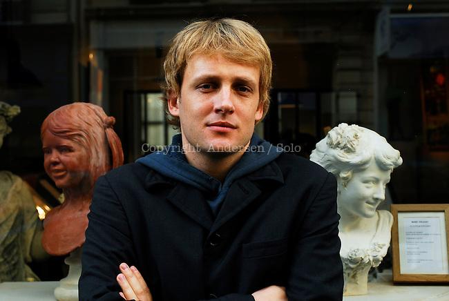 Benjamin Kunkel, american author.