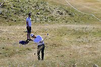 Brandon Stone (RSA) plays from the rough on the 1st hole during Friday's Round 2 of the 2018 Dubai Duty Free Irish Open, held at Ballyliffin Golf Club, Ireland. 6th July 2018.<br /> Picture: Eoin Clarke | Golffile<br /> <br /> <br /> All photos usage must carry mandatory copyright credit (&copy; Golffile | Eoin Clarke)