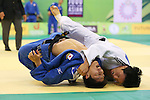 (L to R) Riki Nakaya (JPN), Wang Ki-Chun (KOR), .April 21, 2013 - Judo : .Asian Judo Championships 2013, Men's Team Competition Final .at Bangkok Youth Centre, Bangkok, Thailand. .(Photo by Daiju Kitamura/AFLO SPORT) [1045]