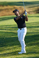Xander Schauffele (USA) In action during the final round of the The Genesis Invitational, Riviera Country Club, Pacific Palisades, Los Angeles, USA. 15/02/2020<br /> Picture: Golffile | Phil Inglis<br /> <br /> <br /> All photo usage must carry mandatory copyright credit (© Golffile | Phil Inglis)