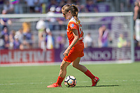 Orlando, FL - Saturday June 24, 2017: Janine Beckie during a regular season National Women's Soccer League (NWSL) match between the Orlando Pride and the Houston Dash at Orlando City Stadium.