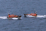 during an exercise with both the Clogherhead and Cliften Lifeboats on Thursday 22nd May 2014.<br /> Picture:  Thos Caffrey / www.newsfile.ie