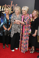 NEW YORK, NY-July 18: Jennifer Saunders, Mandie Fletcher, Joanna Lumley at Fox Searchlight Pictures presents premiere of Absolutely Fabulous: The Movie  to talk about  Star Trek Beyond in New York. NY July 18, 2016. Credit:RW/MediaPunch