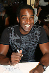 OLTL - AMC Norm Lewis at 22nd Annual Broadway Flea Market & Grand Auction to benefit Broadway Cares/Equity Fights Aids on Sunday, September 21, 2008 in Shubert Alley, New York City, New York. (Photo by Sue Coflin/Max Photos)