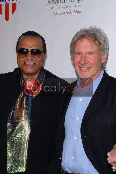Billy Dee Williams and Harrison Ford<br />