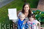 "Sinead O'Sullivan Ballymac, pictured with her children Lilly and Conor, has been invited to the Áras an Uachtaráin to meet the First Lady Sabina Higgins this Monday for ""Latching On Morning""."