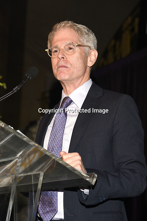Dr Bill Donahue speaking at the Columbia Grammar & Prep School 2017 Benefit on March 8, 2017 at Cipriani Wall Street in New York, New York.