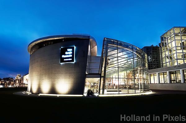 Nederland - Amsterdam -  2018.  Het van Goghmuseum .  Foto Berlinda van Dam / Hollandse Hoogte