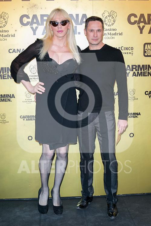 "Topacio Fresh  attend the Premiere of the movie ""Carmina y Amen"" at the Callao Cinema in Madrid, Spain. April 28, 2014. (ALTERPHOTOS/Carlos Dafonte)"