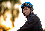 OCT 30: Japanese champion jockey Yutaka Take at Santa Anita Park in Arcadia, California on Oct 30, 2019. Evers/Eclipse Sportswire/Breeders' Cup