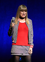 LAS VEGAS, NV - APRIL 23: Director Catherine Hardwicke onstage at the Sony Pictures Entertainment presentation at CinemaCon 2018 at The Colosseum at Caesars Palace on April 23, 2018 in Las Vegas, Nevada. (Photo by Frank Micelotta/PictureGroup)
