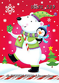 Janet, CHRISTMAS ANIMALS, WEIHNACHTEN TIERE, NAVIDAD ANIMALES, paintings+++++,USJS529,#xa# ,icebear