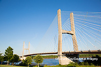 65095-02319 Bill Emerson Memorial Bridge over Mississippi River Cape Girardeau, MO