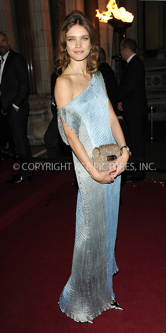 WWW.ACEPIXS.COM . . . . .  ..... . . . . US SALES ONLY . . . . .....December 9 2009, london....Model Natalia Vodianova arriving at the British Fashion Awards at Royal Courts of Justiceon The Strand on December 9, 2009 in London, England.......Please byline: FAMOUS-ACE PICTURES... . . . .  ....Ace Pictures, Inc:  ..tel: (212) 243 8787 or (646) 769 0430..e-mail: info@acepixs.com..web: http://www.acepixs.com