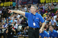 Joe Prunty Great Britain Head Coach during the EuroBasket 2015 2nd Qualifying Round Great Britain v Bosnia & Herzegovina (Euro Basket 2nd Qualifying Round) at Copper Box Arena in London. - 13/08/2014