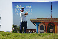 Jack Singh Brar (ENG) on the 7th during Round 2 of the Oman Open 2020 at the Al Mouj Golf Club, Muscat, Oman . 28/02/2020<br /> Picture: Golffile | Thos Caffrey<br /> <br /> <br /> All photo usage must carry mandatory copyright credit (© Golffile | Thos Caffrey)