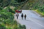 Popula&ccedil;&atilde;o ind&iacute;gena da Cordilheira dos Andes, Equador. 1997.<br /> Foto de Juca Martins.