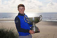 Ronan Mullarney (Galway) winner of the AIG Irish Amateur Close Championship 2019 in Ballybunion Golf Club, Ballybunion, Co. Kerry on Wednesday 7th August 2019.<br /> <br /> Picture:  Thos Caffrey / www.golffile.ie<br /> <br /> All photos usage must carry mandatory copyright credit (© Golffile | Thos Caffrey)