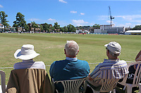 Spectators look on during Surrey CCC vs Essex CCC, Specsavers County Championship Division 1 Cricket at Guildford CC, The Sports Ground on 10th June 2017