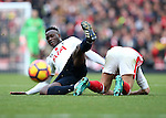Tottenham's Victor Wanyama in action during the Premier League match at the Emirates Stadium, London. Picture date November 6th, 2016 Pic David Klein/Sportimage