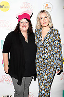 "LOS ANGELES - May 11: Dana Resnick, Lora Lee Gayer at ""The Pussy Grabbers Play LA"" presented by the Cote d'Azur Web Fest at the Thymele Arts Center on May 11, 2019 in Los Angeles, CA"