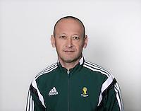 FUSSBALL Fototermin FIFA WM Schiedsrichterassistenten 09.04.2014 Mathias KLASENIUS (Kirgisistan)