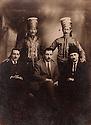 Syria 1928.<br /> Memdouh Selim, Geladet and Kamuran Bedir Khan,standing Yado Agha and Ado Agha, leaders of the Harput front.<br /> Syrie 1928<br /> .De gauche a droite, assis, Memdouh Selim, Geladet et Kamuran Bedir Khan, debout Yado Agha et Ado Agha, chefs  du front de Harput