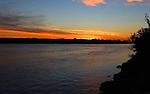 SUNRISE AT LESSER SLAVE LAKE, ALBERTA