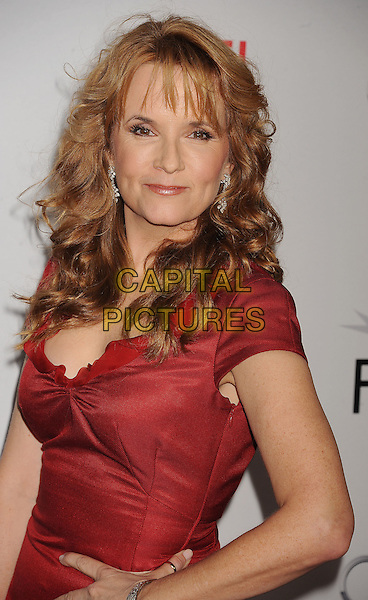 "Lea Thompson.AFI Fest 2011 Opening Night Gala Premiere of ""J. Edgar"" held at Grauman's Chinese Theatre, Hollywood, California, USA..November 3rd, 2011.half length red dress.CAP/ROT/TM.©Tony Michaels/Roth Stock/Capital Pictures"