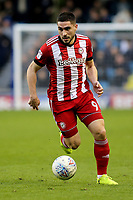 Neal Maupay of Brentford during Millwall vs Brentford, Sky Bet EFL Championship Football at The Den on 10th March 2018