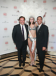 Chris Grabe, Caesars Entertainment Model Ashley Scott and  Michael Siciliani Attend The Association of Community Employment Programs for the Homeless Presents Viva Las Veg-ACE! held at the Waldorf Astoria (Starlight Roof), NY  5/19/11