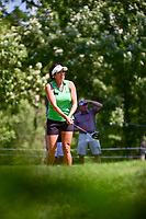Gerina Piller (USA) watches her tee shot on 16 during Saturday's round 3 of the 2017 KPMG Women's PGA Championship, at Olympia Fields Country Club, Olympia Fields, Illinois. 7/1/2017.<br /> Picture: Golffile | Ken Murray<br /> <br /> <br /> All photo usage must carry mandatory copyright credit (&copy; Golffile | Ken Murray)