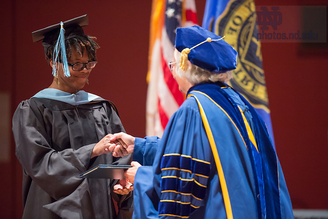 July 15, 2017; ACE Commencement Ceremony in the Debartolo Performing Arts Center.  Photo by Barbara Johnston/University of Notre Dame)