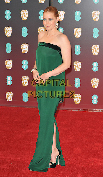Amy Adams at the EE British Academy Film Awards (BAFTAs) 2017, Royal Albert Hall, Kensington Gore, London, England, UK, on Sunday 12 February 2017.<br /> CAP/CAN<br /> &copy;CAN/Capital Pictures