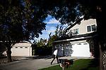 Democratic congressional challenger Eric Swalwell campaigns door-to-door in Pleasanton, Calif., September 21, 2012.