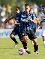 Hernanes<br /> italian Prseason soccer match between FC inter e Carpi , at Stadium of Rischione di Brunico Italy July 15, 2015