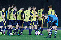 Pictured: Friday 22 March 2019<br /> Re: Cardiff and Vale College v Christchurch football game at Leckwith Stadium, Cardiff, Wales, UK.