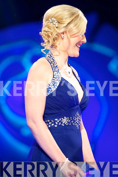 Melbourne Rose Christine Mcgrattan at the Monday night selection of the 2013 Rose of Tralee International Festival, held in the Dome, Tralee.